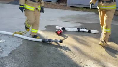 화재진압분야 상시 훈련종목(관창조작 및 주수 훈련)