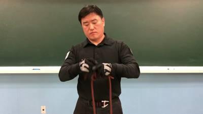 이중 피셔맨 매듭(로프매듭법기초)