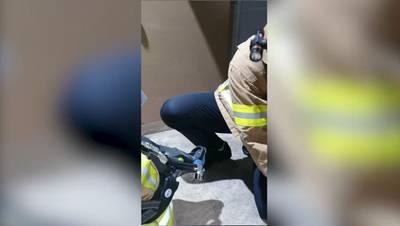 2021년 화재 실무 역량 걍화 과정 인명검색 상황표시 및 고립소방관 구조 참고 동영상